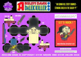Abslom Daak Cubee by mikedaws