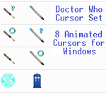 Doctor Who Cursor Set by CrimsonReach