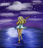 Moonlight Sonata by HiddenFantasy300