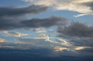 evening sky IV by mimose-stock