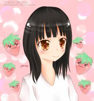 Black-Haired Girl by like2draw001