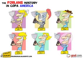The Forlans and Copa America by OmarMomani