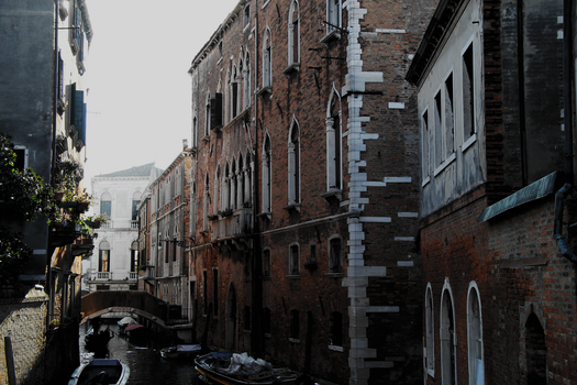 Venice Canal by Schreibsessel