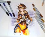 Tracer from Overwatch by Lighane