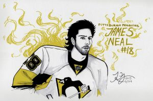 Mr. James Neal by zombiepencil