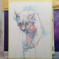 Cat - WIP by alarie-tano