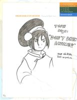 Toph doesn't like anime by sulanebouxi