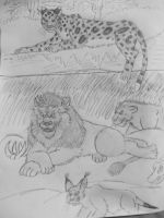 Jungle Book-more suporting characters good and bad by WDGHK