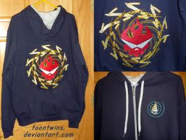 Gurren Lagann Embroidered Jacket by ToonTwins