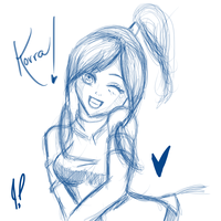 Korra aww kawaii moment by JamilSC11