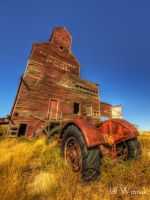 The Ghost Town Elevator by Gemini8026