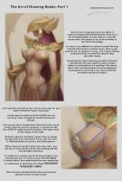 Art of Drawing Boobs: Tutorial Part 1 by Alex-Chow