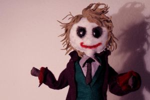 Joker is a Puppet by MichellePrebich