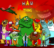 A Monster Thing group 2010 by BluebottleFlyer