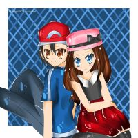 Ash x Serena by Bridget3678