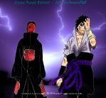 Sasuke and Tobi by godassassin0068