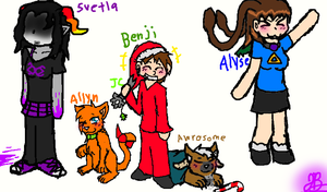 Christmas Group Picture #2. by BBSMJ