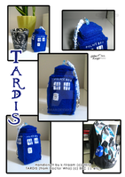 Tardis-accessory +handicraft+ by k-tiraam