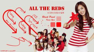 All The Reds -  SNSD Yuri by Kamikazi12