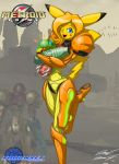 Sarah-chu as Samus by Toughset
