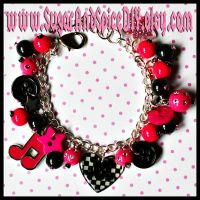 I Love Rock and Roll Bracelet by wickedland