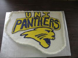 UNI panther cake by cake-engineering