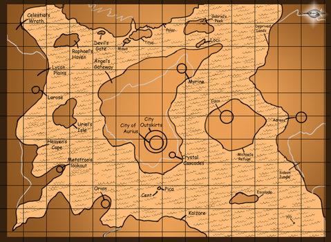 The World Map of Cyrus by miarchy