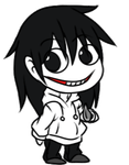 Jeff the Killer Doll by DerseDragon