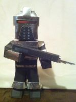 Armed Cylon by wackywelsh