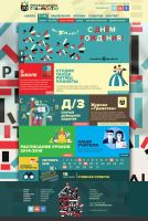 web design for school. by sounddecor