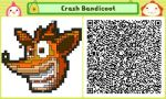 Crash Bandicoot Pushmo Card by thenardsofdoom