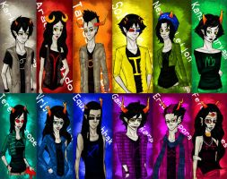 Homestuck Trolls by Dark-angel-star