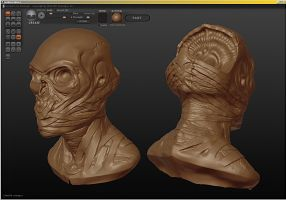 Sculptris doodling by camoteguau18
