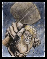Thor art $250 by Gary Shipman by G-Ship