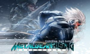 Metal Gear Rising Revengeance Wallpaper by AngelShadow3593