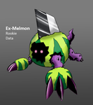 Digimon World D3: Fake Melons by Midnitez-REMIX