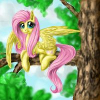 Another Fluttershy by QuennyQueen