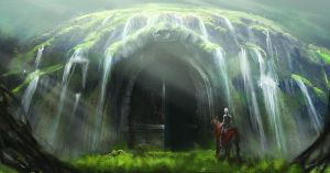 the faun's cave by faust8