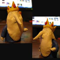 Adventure Time: Ice King by Spaz-Twitch11-15-10