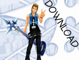Casual Demyx + DL by SammyJustNobody