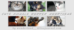 Cute Animals Moodtheme - Border by Foxxie-Chan