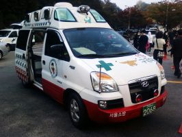 Hyundai Starex Ambulance by Kia-Motors