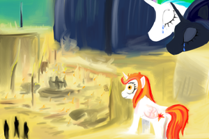 Princess Ignia Alba and the Crossed Line by Shade-os