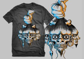 Shrunked Heads Design for Sale by TheFranology