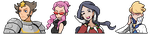 Kalos Elite Four VS Sprites: 4/4 Complete by torqupine