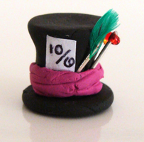 Mad Hatter's Hat by CookieCraft