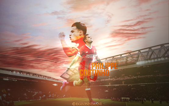 Philippe Coutinho - Wallpaper 2017 by EgzonNimani