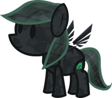 Paper Crystal Thorn (My Paper Pony) by Midnight-Devilwitch
