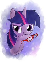 Twilight Sparkle by AmethystHorn
