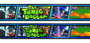 MY YOUTUBE LAYOUT! (Before, and After) by TheToxicDoctor